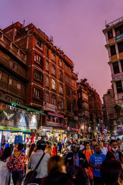 ネパールの旅 街の熱気とアサンチョーク周辺