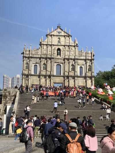 香港マカオ散策旅行(2/5:マカオの歴史的建造物散策)