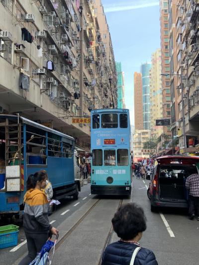 香港マカオ散策旅行(4/5:マカオ―香港への移動と中環付近散策)