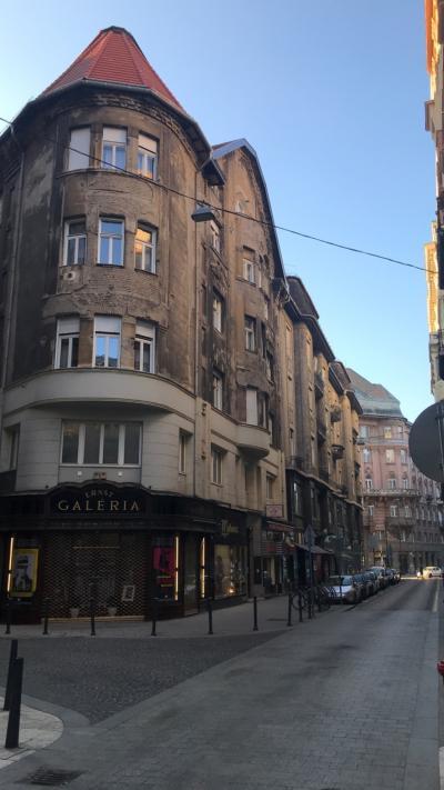 ブダペストの建築物に萌える