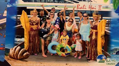 一族親子3世代12人でバリ島旅行大型ヴィラ泊!5日目レンボンカン島へ