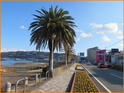 伊豆星野リゾートで癒されたい(3)伊東の海岸を歩いて宿へ。オレンジビーチ、なぎさ公園