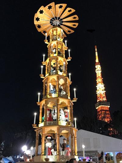 2019 クリスマスマーケット&東京タワー