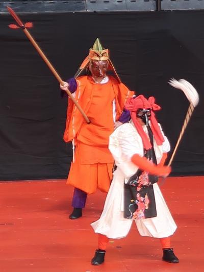 ふるさと祭り東京-7 山代大田楽(石川県加賀市)☆田楽を現代風に再生させた祝祭