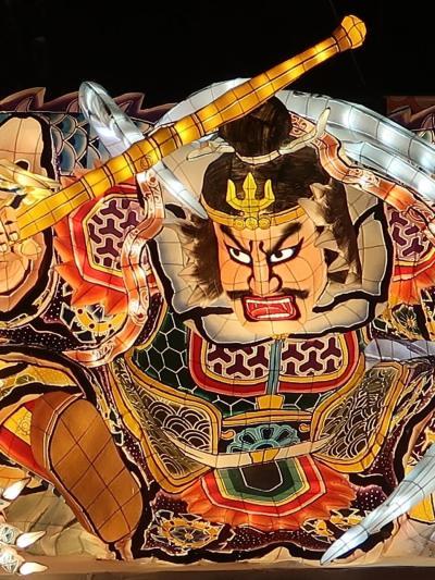 ふるさと祭り東京-8 青森ねぶた祭A(青森県青森市)☆電飾華麗-大型ねぶた-曳き回し