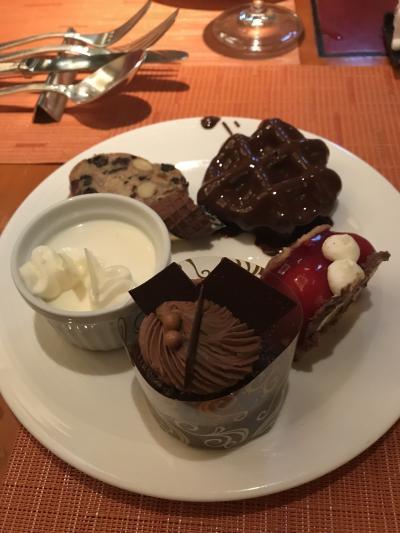 リッツ・カールトン大阪 中華ランチ&ベルギーチョコレートビュッフェ