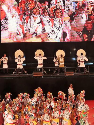 ふるさと祭り東京-9 青森ねぶた祭B(青森県青森市)☆勇壮-囃子・ハネト・ラッセラー響き