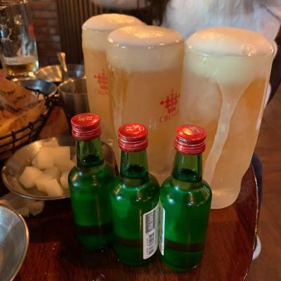 韓国の居酒屋の旅