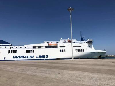 ブリンデッシからギリシャへ船旅