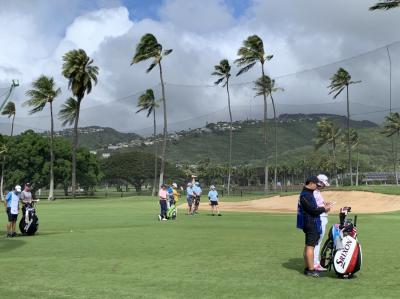 ♪あーオアフ島は今日も雨だった♪ その2 SONY OPEN観戦とゴルフ
