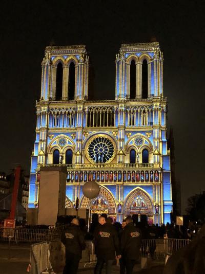 住むように滞在する初めてのパリ一人旅④ 4日目~ルーブル美術館・夜のノートルダム大聖堂~