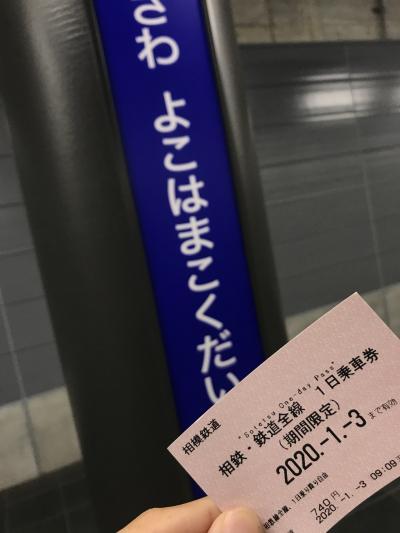 [JR・相鉄直通線 開業記念] 「相鉄1日乗車券」で、相鉄線全線を乗破してきた