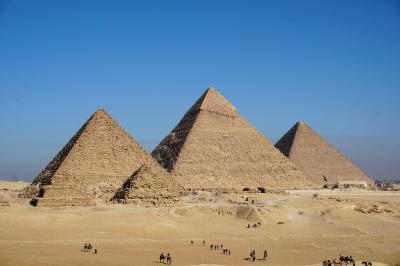 2019年冬季休暇 エジプト縦断旅行 ①ギザの大ピラミッド