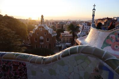 スペイン・ポルトガル旅行記(2019/12/26-2020/1/3)Part2:グエル公園(12/27)