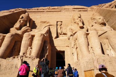 2019年冬季休暇 エジプト旅行 ②アスワン・アブジンベル