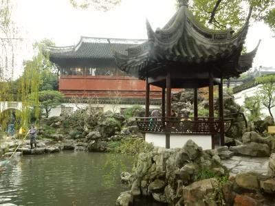 上海で人気の伝統的な庭園です  ③ 豫園