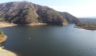 冬の富士五湖で車中泊を楽しみながら東京へ(8/8)西湖、精進湖、本栖湖、道の駅しもべ