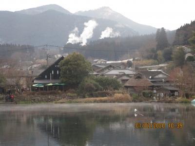 新春:別府温泉と湯布院の観光