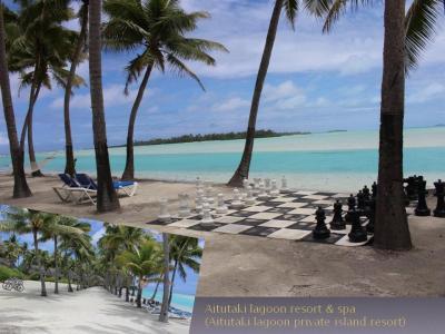 25周年記念 クック諸島 Day4-3(旧名Aitutaki Lagoon Private Islandを自転車で)