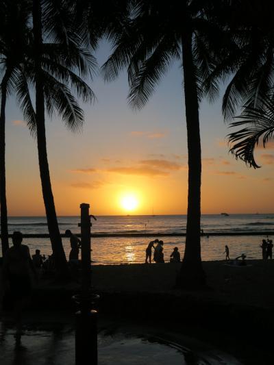 ハワイで初めての年越し