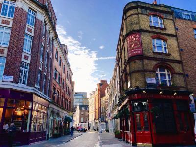 2020.01コペンハーゲン&ロンドン 10日間 50代も20代も楽しい女子旅⑧スコーンは食べられた。