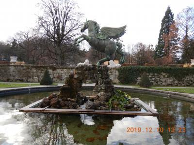オーストリア横断の旅(6) ザルツブルグへ移動してホテルにチェックイン後、ミラベル庭園を歩いてみたが・・・