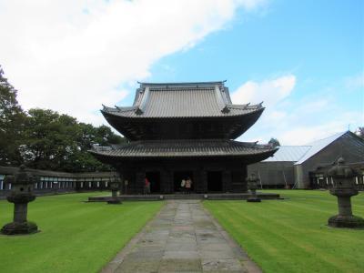 富山の旅④ ドラえもんのまち高岡の国宝「瑞龍寺」