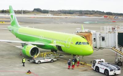 正月 ひとり旅 S7航空で成田からウラジオストクへ