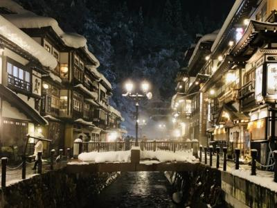 銀山温泉1泊2日