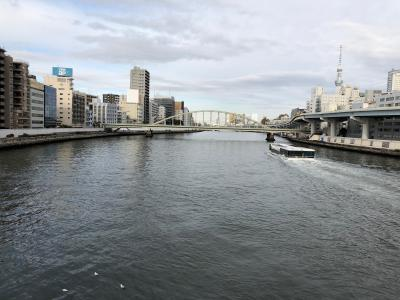 冬のうららの隅田川