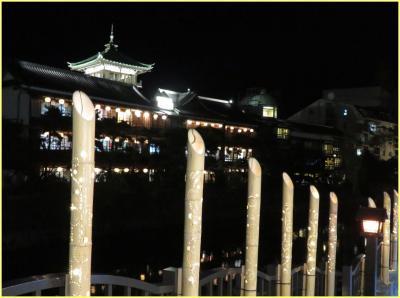 伊豆星野リゾートで癒されたい(6)松川遊歩道&東海館ライトアップ