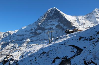 シニアー夫婦のスイスゆっくり旅行30日  (15)メンリッヒェンからクライネ.シャイデックまでハイキングです(続10月3日)