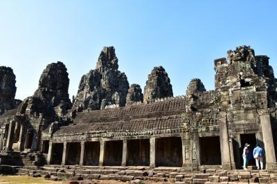乾季のカンボジアへ 感動の遺跡めぐり旅 その③(アンコール・トム&タ・プローム寺院)