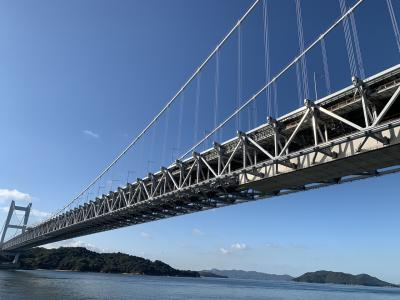 絶景!瀬戸大橋と倉敷美観地区