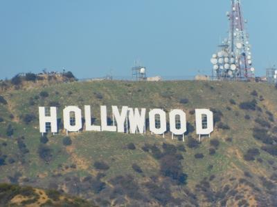 はじめての海外家族旅行 in LA 1日目(KIX→LAX、ハリウッド、NBA観戦)