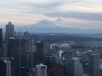 世界一周の冬。~シアトル前半~