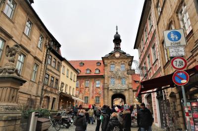 2019冬 母娘でドイツ・フランス クリスマスマーケット巡り ⑦バンベルク
