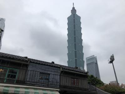 寒さに震えた台北 旧正月準備で大賑わい 二日目