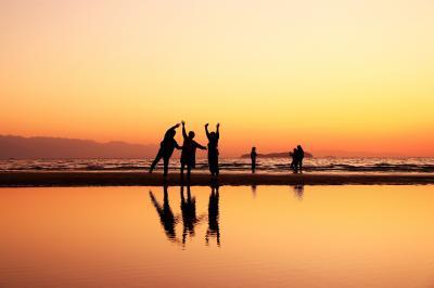 日本の絶景を求めて徳島・高松・岡山へ  (2)話題の「父母ヶ浜」へ行ってみました