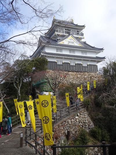 岐阜城訪問(2020年1月)