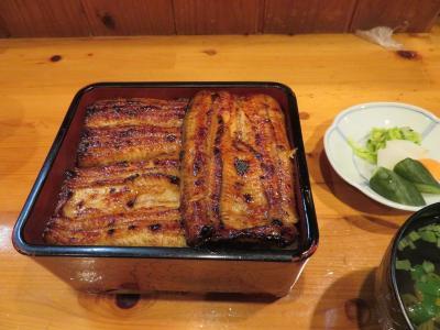伊豆星野リゾートで癒されたい(8)松川遊歩道散策とうなぎの人気店まとい