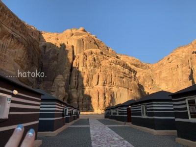 サウジアラビアの旅5・AL ULA CAMP マダヒキャンプホテル