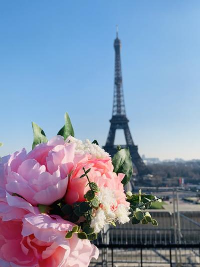 母と行くパリ散歩 1日目