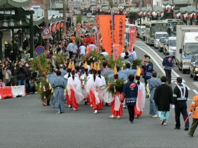 2020  今年も京都旅行から始まりました 神宮道に添って‥えべっさんまで