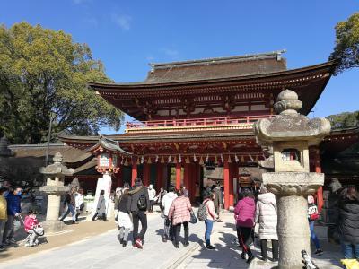 今年最初の旅は福岡・天神と大宰府天満宮へ2泊3日の旅!2020年1月