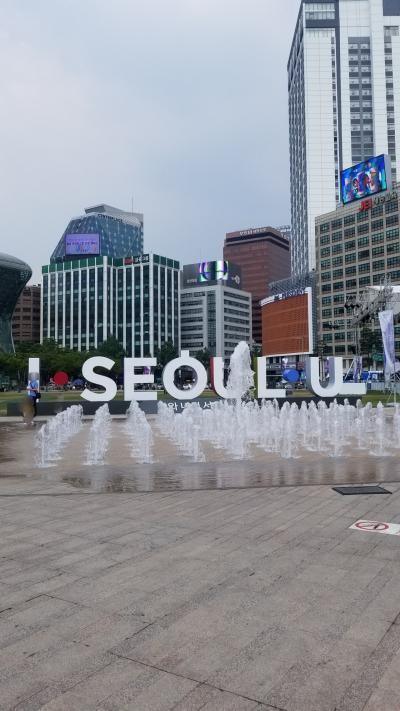 猛暑のソウル① 市内散策