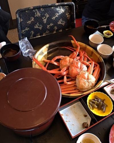 新潟三国街道塩沢宿牧之通りとカニ食べ放題