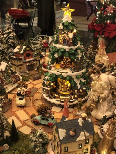 クリスマスムードの椿山荘でアフタヌーンティー☆