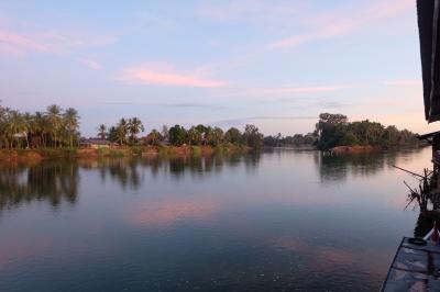 カンボジア&ラオス&タイ旅行10 ラオス南部編 コーン&デッド島 川イルカウォッチング
