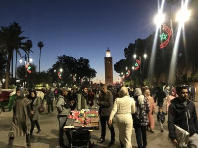 2019年冬~モロッコ9日間⑤列車でフェズからマラケシュへ!